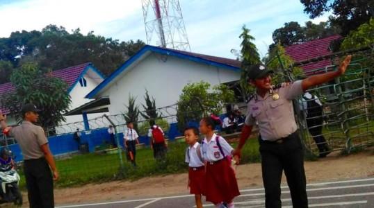 PROGRAM SSDP : Kerja Nyata Polri Dalam Mendukung Dunia Pendidikan dan Karakter Anak