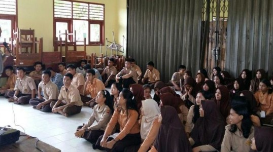 KABAG SUMDA POLRES BATENG TURUN LANGSUNG SOSIALISASIKAN PENERIMAAN POLRI TAHUN 2017