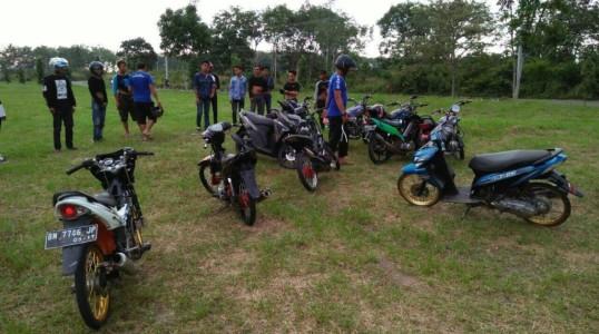 Sat Lantas Polres Bateng kembali tertibkan Aksi balap liar di Bangka Tengah