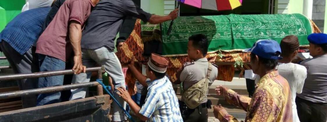 Bhabinkamtibmas dan Sat Polair gelar Sambang duka masyarakat Desa Sungai Selan