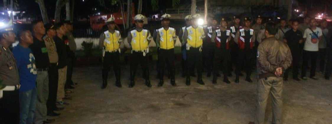 Polres Bangka Tengah Gencarkan Operasi Pekat Ciptakan Kamtibmas Jelang Ramadhan