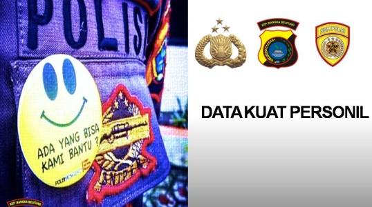 DATA KEKUATAN PERSONIL POLRES BANGKA TENGAH