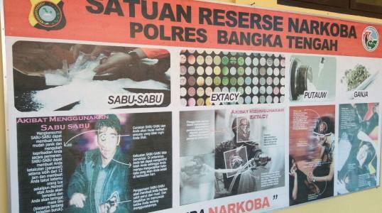 Profil Sat Reserse Narkoba Polres bangka tengah