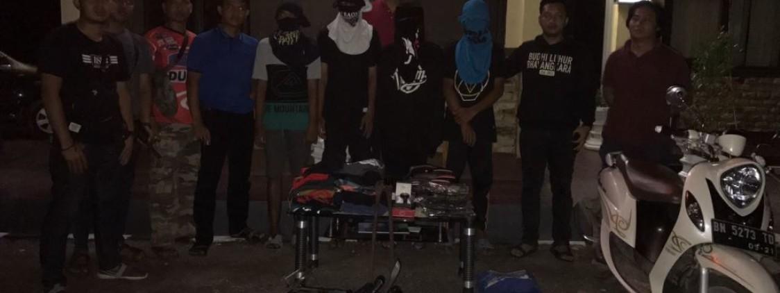 4 Pelaku spesialis pencurian Ruko berhasil dibekuk Tim Opsnal Satgas 3 C Polres Bateng