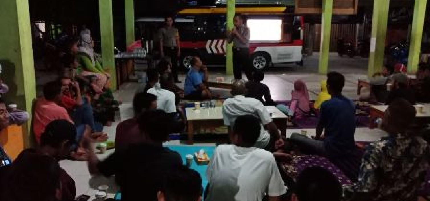 Binmas Gencar Buka Forum Komunikasi Cegah Miras Di bangka tengah