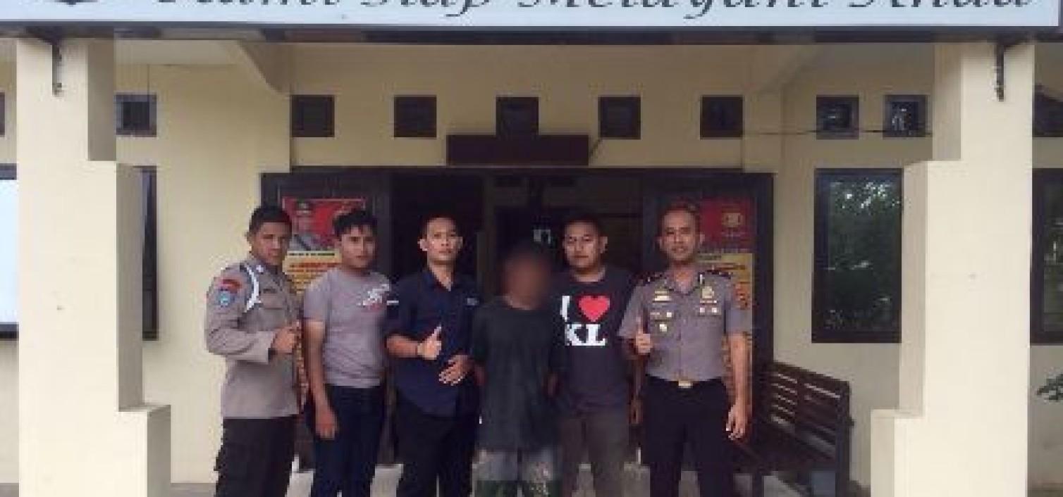 Sempat Buron 1 Bulan, Pelaku Penganiayaan Diciduk Tim Opsnal Polsek Namang