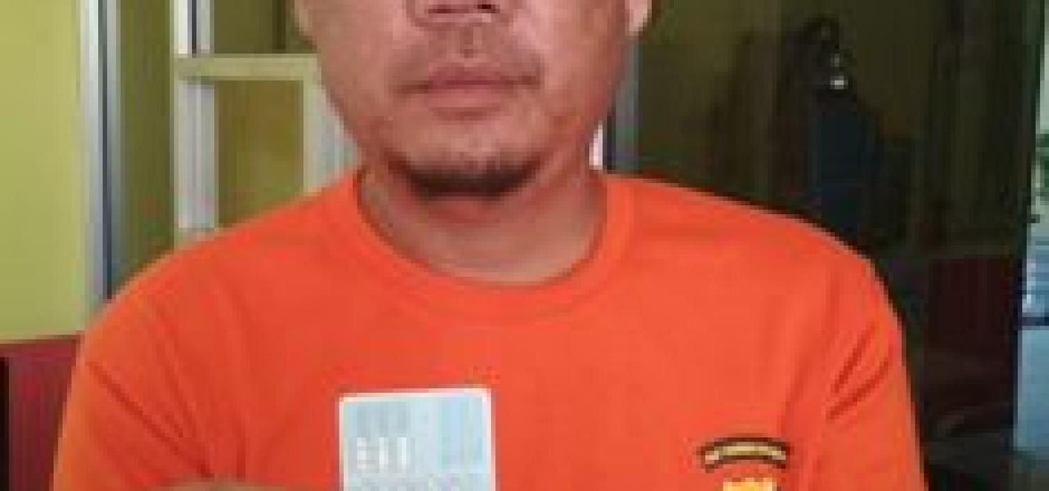 Sat Resnarkoba Polres Bangka Tengah Tangkap Pelaku Narkoba Jenis Sabu Di Desa Nbung
