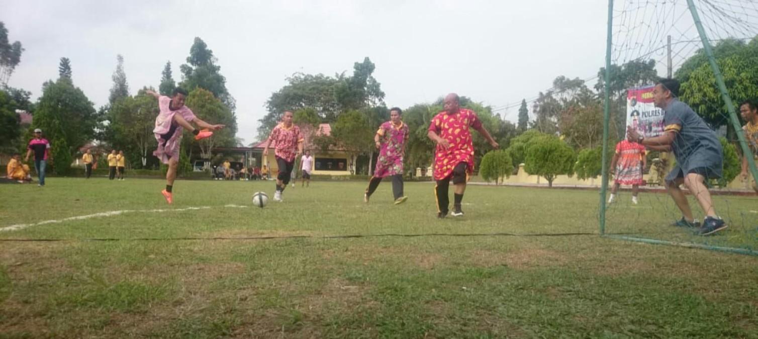 Futsal Daster Polres Bangka Tengah meriahkan Kemerdekaan RI ke 73