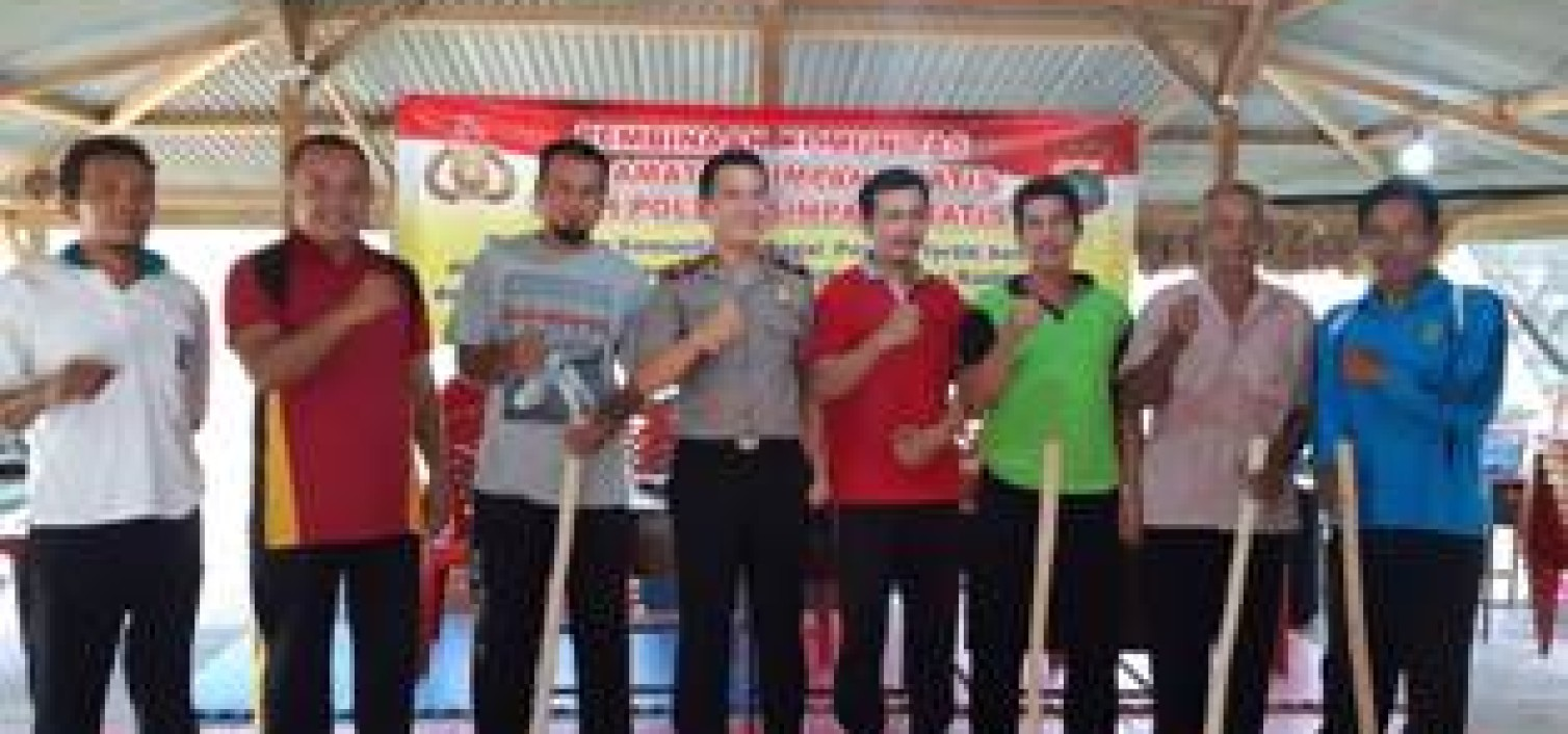 Pembinaan Komunitas, Polsek Simpang Katis Adakan Sosialisasi Bersama Kelompok Tani