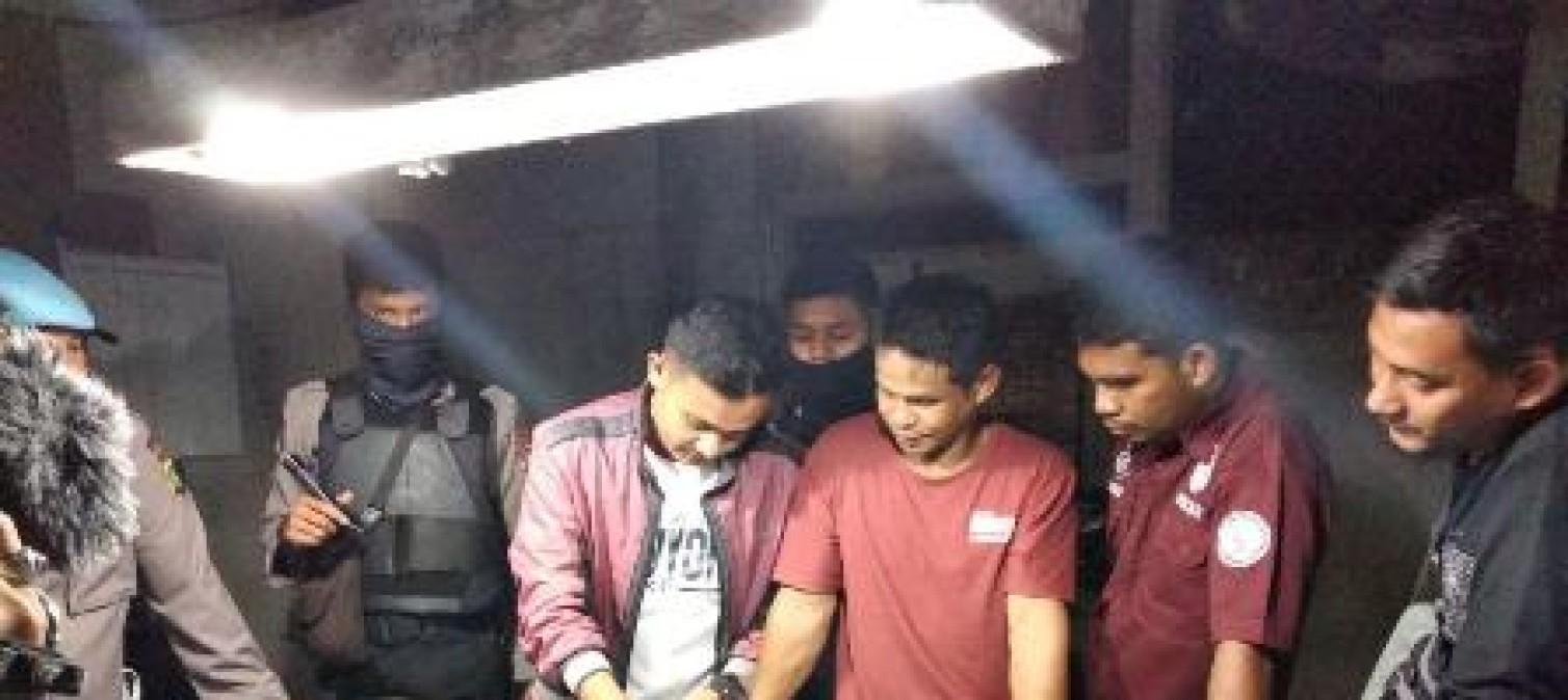 Razia Ke Tempat Hiburan, Tim Gabungan Polres Bateng Dapati 2 Orang Positif Narkoba