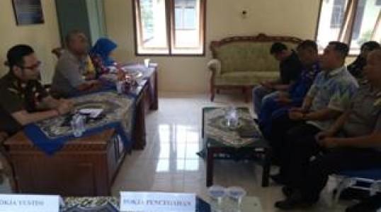 Saber Pungli Kabupaten Bangka Tengah Gelar Rakerja 2019
