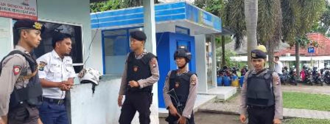 Berikan Rasa Aman, Sat Sabhara Polres Bangka Tengah Rutin Laksanakan Patroli