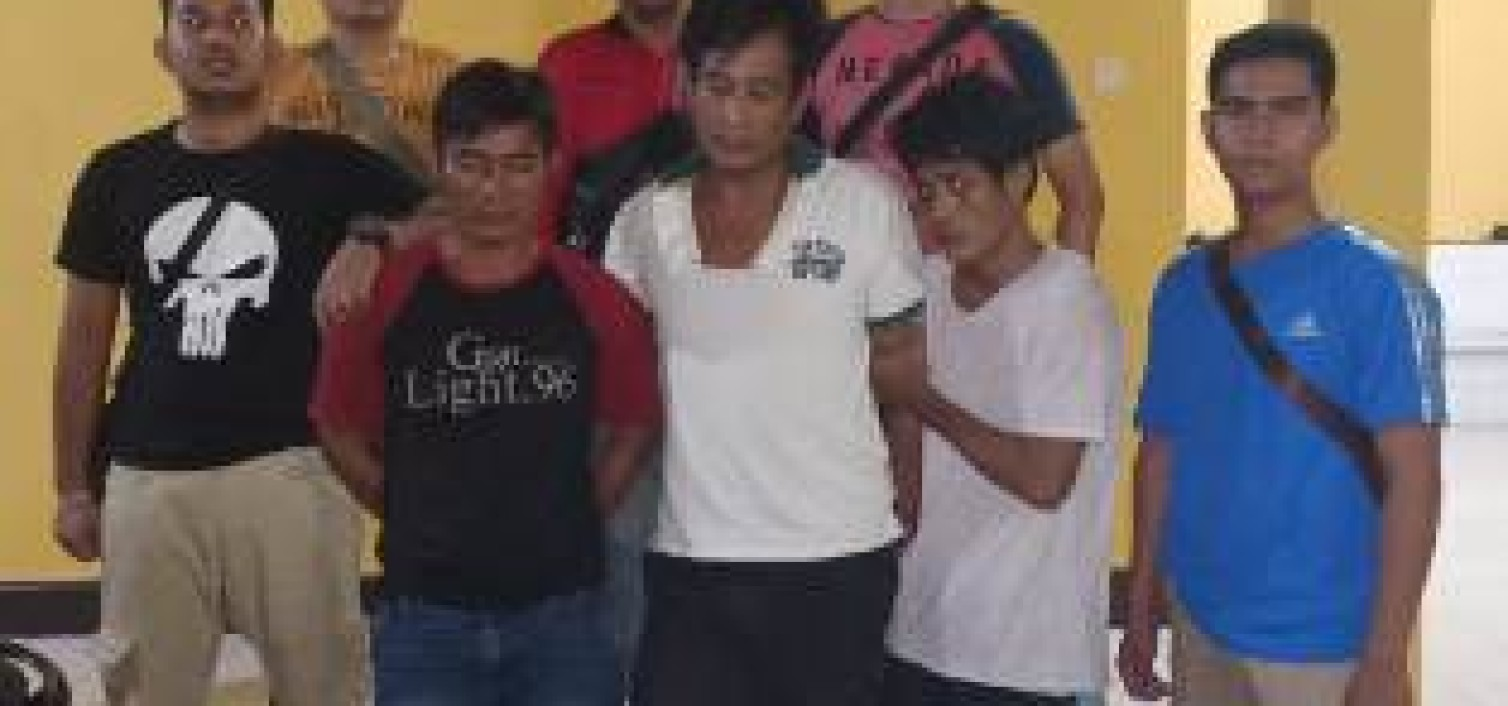 Residivis kambuhan dibekuk Team Opsnal Polsek  Koba setelah berhasil menggondol sahang 200 Kg