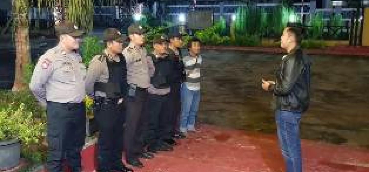 Cegah Kejahatan Penyakit Masyarakat, Polsek Sungai selan Gencar Patroli Malam