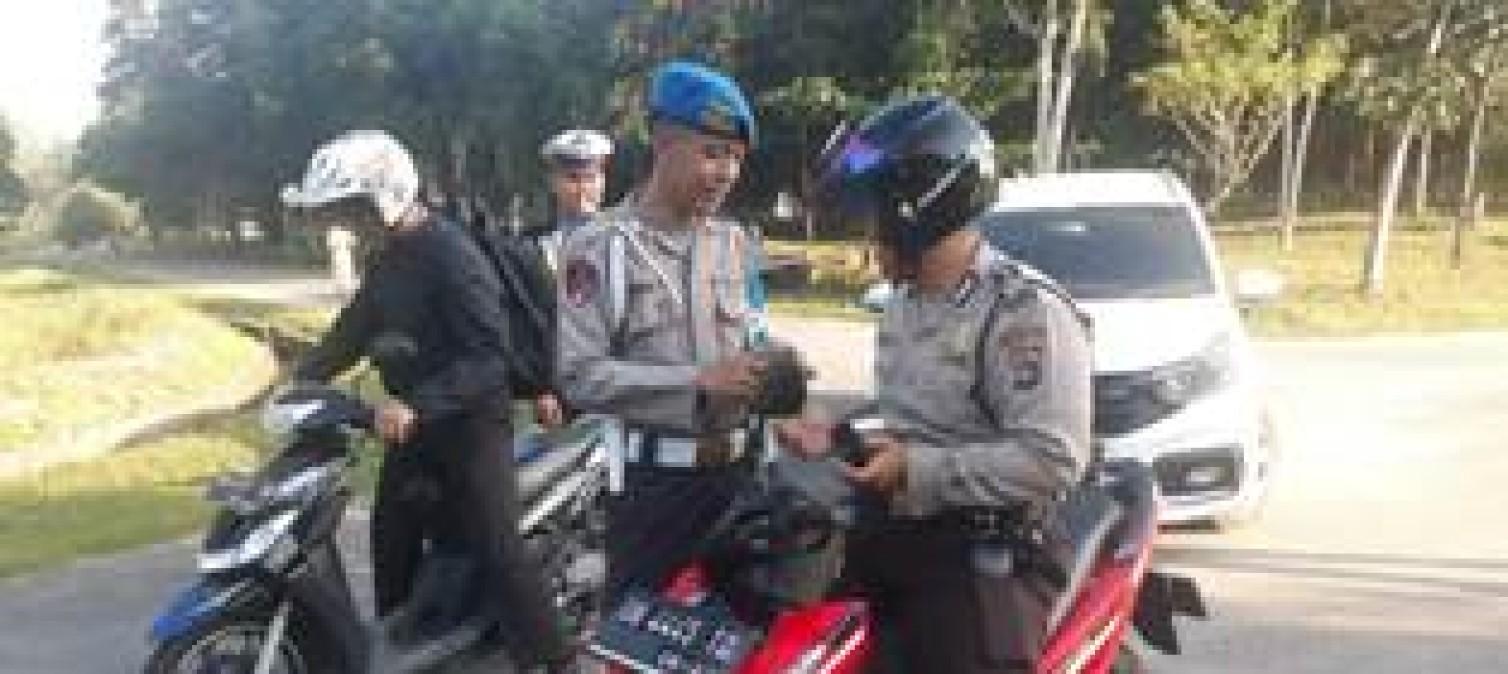 Personil Polres Bangka Tengah Di Razia Provost