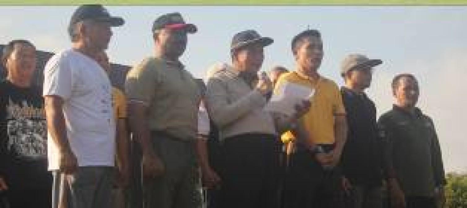 Forkopimda Kabupaten Bangka Tengah Tanda Tangani Deklarasi Tolak Aksi Kerusuhan