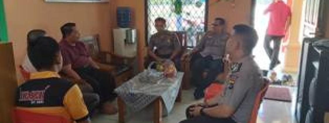 Giatkan Silaturahmi, Waka Polres Bangka Tengah Sambangi Ponpes Al Muhajirin
