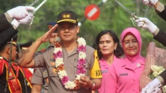 Resmi Akbp Slamet Ady Purnomo,SIK,SH,MH Jabat Kapolres Bangka tengah Gantikan Akbp Edison Sitanggang,SIK