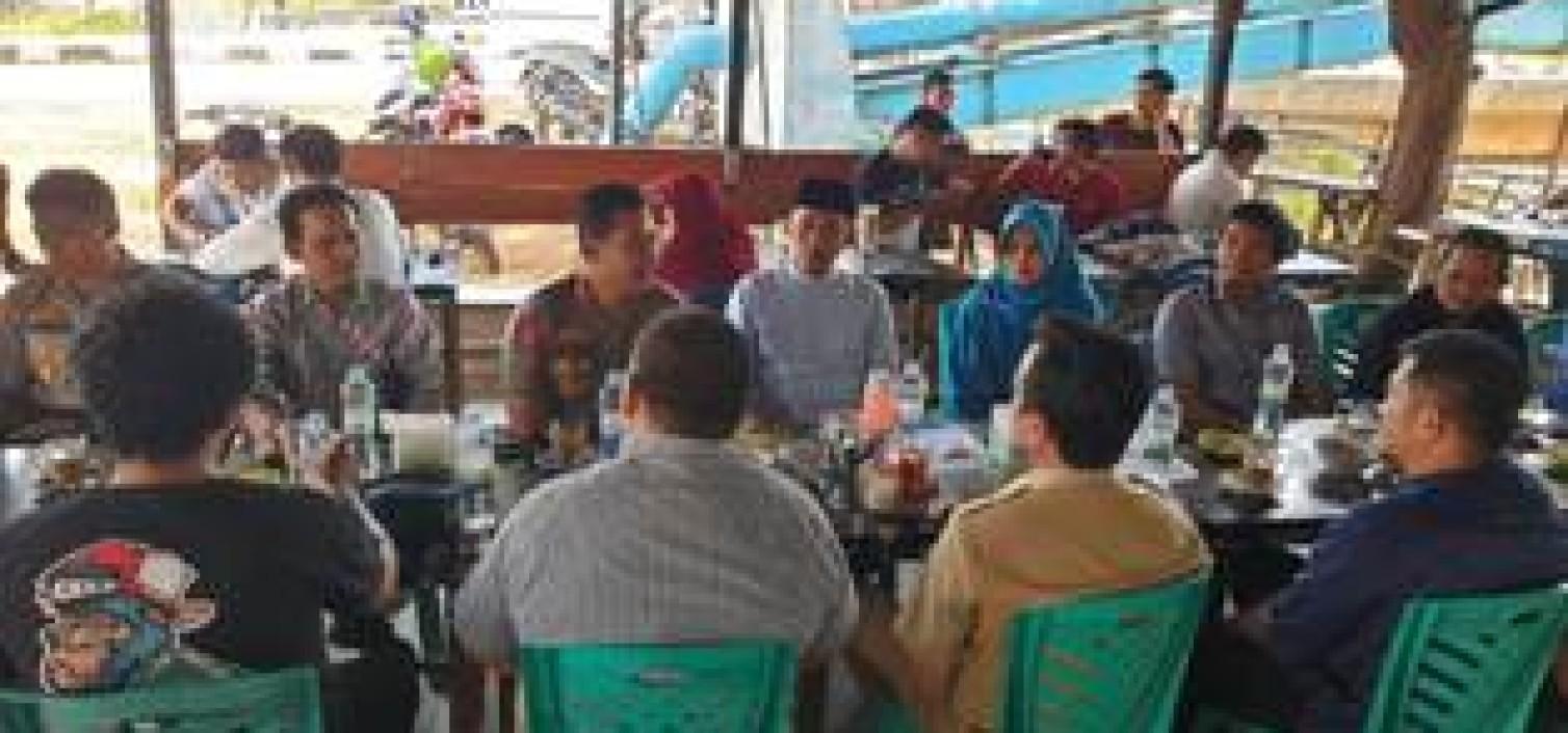 Kapolres Bangka tengah Silahturahmi ke Kelompok Alumni Mahasiswa dan Akademisi Bangka tengah