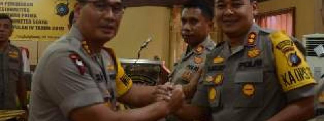 Polres Bangka tengah Raih Dua Penghargaan Dari Kapolda Kep. Bangka Belitung