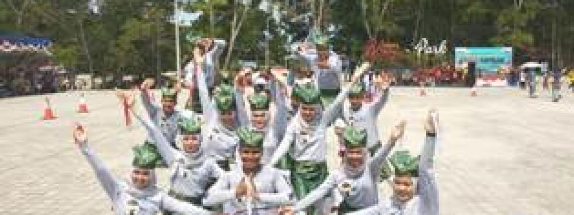 Tampil Spektakuler, Tim Bendicak Polres Bangka tengah Optimis Juara