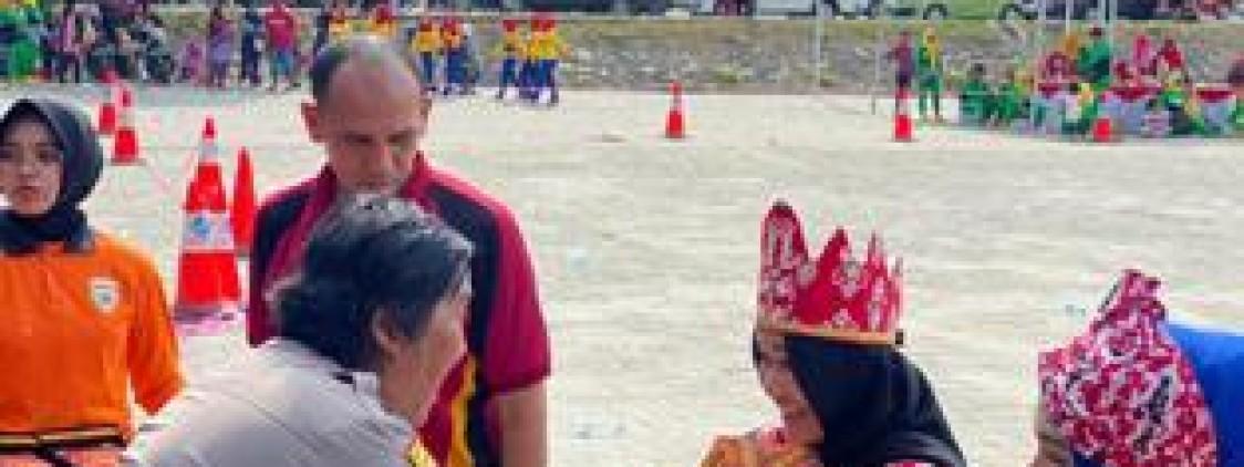 Tampil Pada Lomba Bedincak, Bhayangkari Bangka tengah Sukses Gaet Juara Pertama