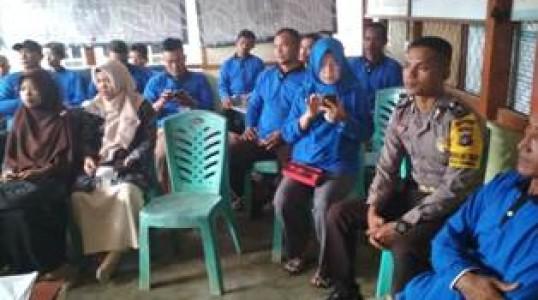 Bhabinkamtibmas Dampingi Pelatihan Ternak Sapi di Desa Cambai