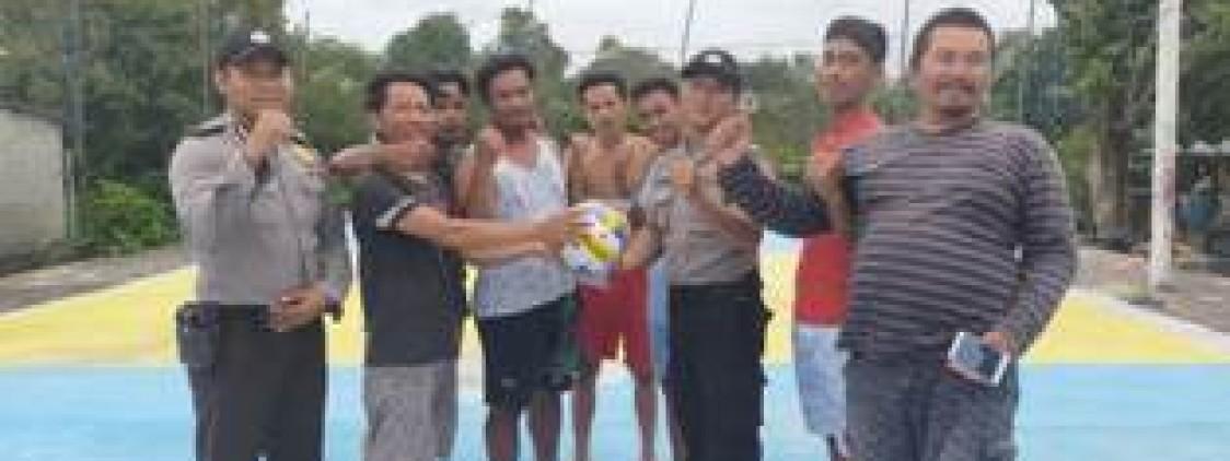 Polsek Lubuk Besar Rangkul Pemuda Dusun Sungai Tebuk