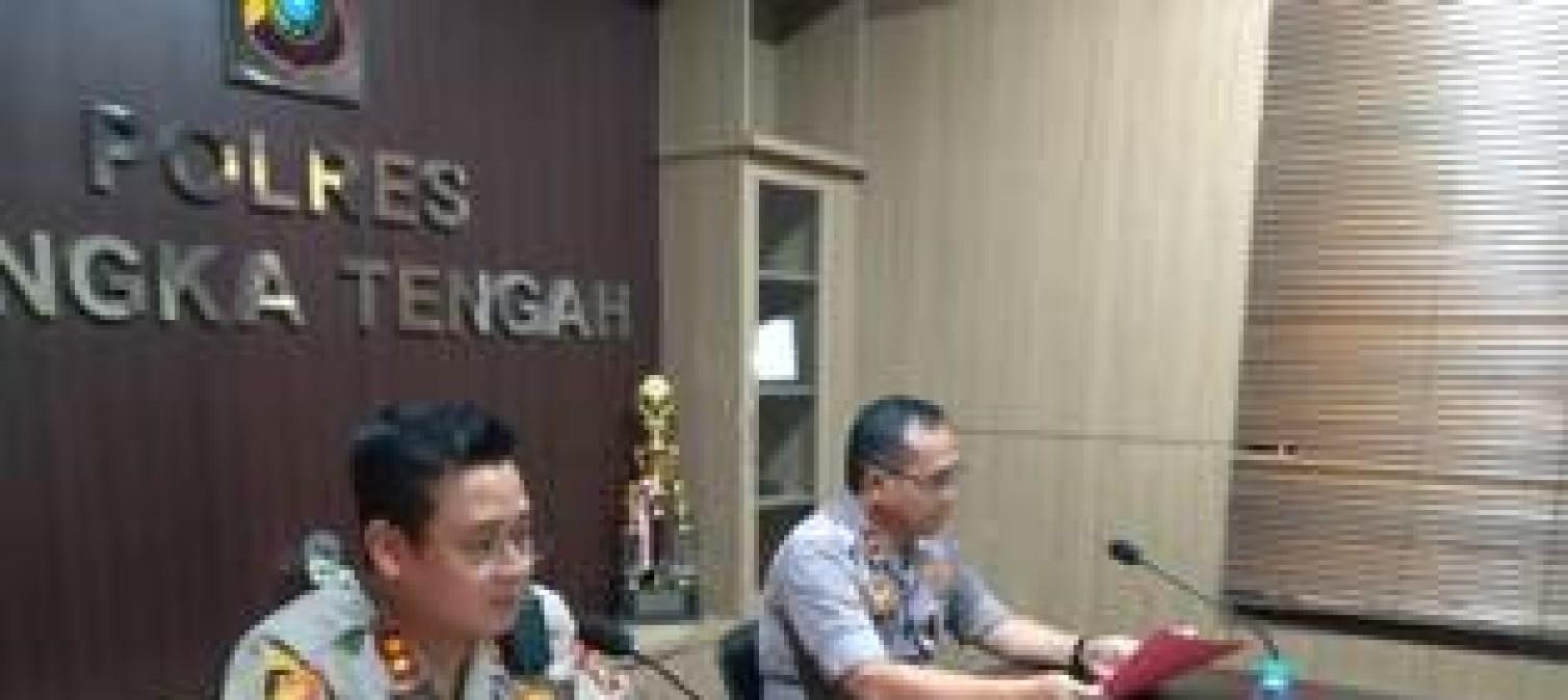 Kapolres Bangka Tengah Gelar Rapat Terkait NPHD Anggaran Pilkada 2020