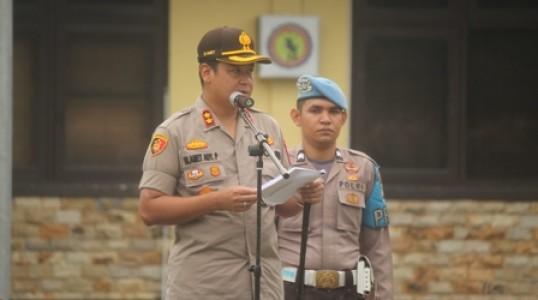 10 Penekanan Kapolres Bangka Tengah Pada Upacara Hari Kesadaran Nasional