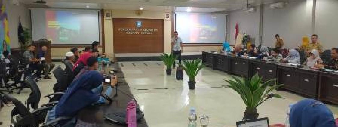 Kasat Reskrim Menjadi Pemateri Pada Pelatihan PATBM Bangka tengah