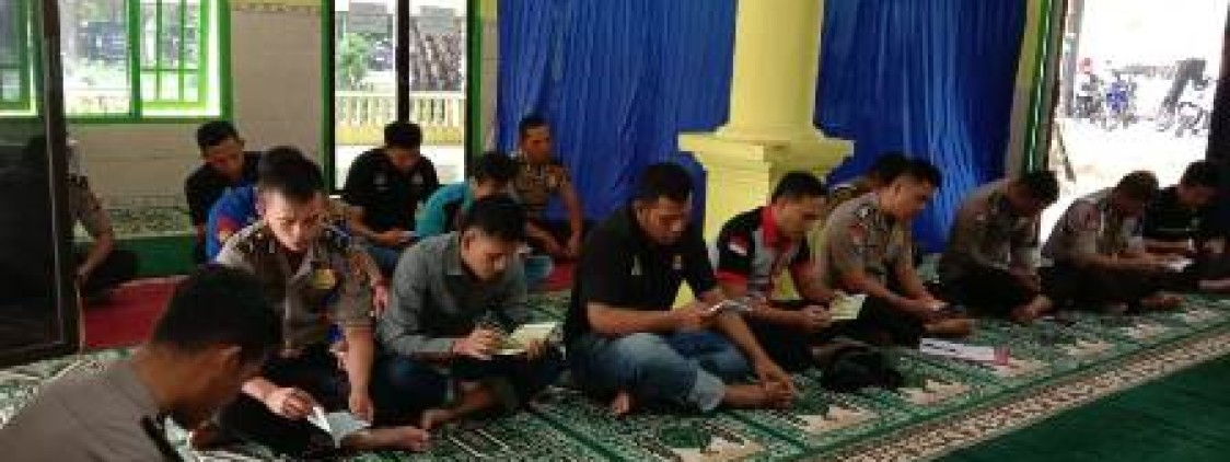 Polres Bangka Tengah Gelar Pengajian Rutin