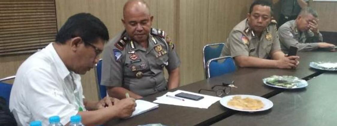 Tim Puslitbang Polri Laksanakan Penelitian Kepercayaan Masyarakat Pada Polres Bangka tengah