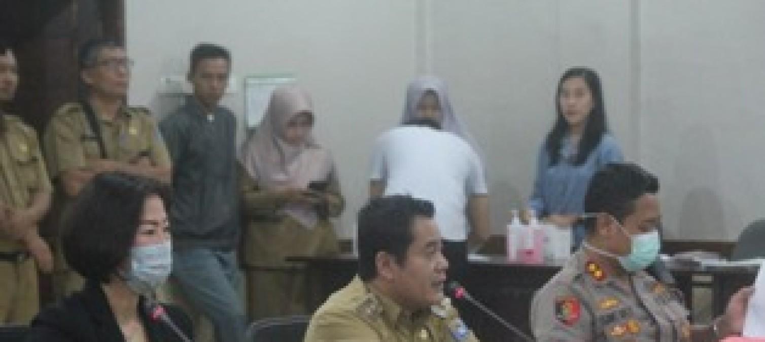 Kabupaten Bangka Tengah Gelar Rapat Gugus Tugas Cegah Covid 19
