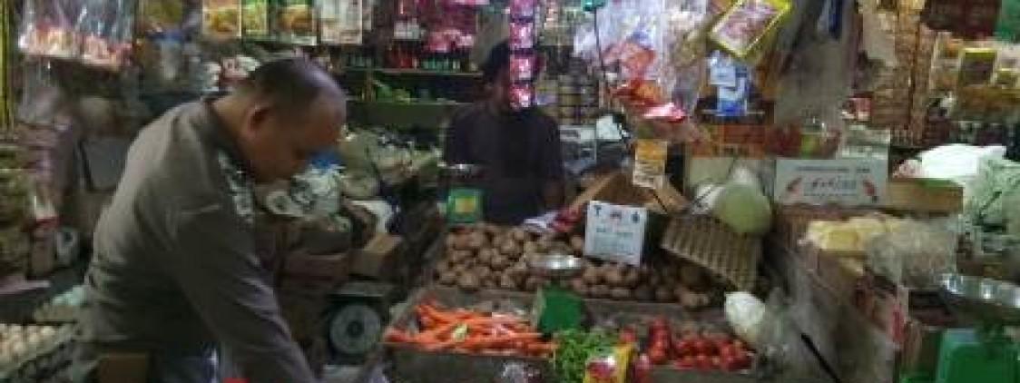 Covid 19 : Satgas Pangan Turun Cek Pasar Pantau Stabilitas Bapok