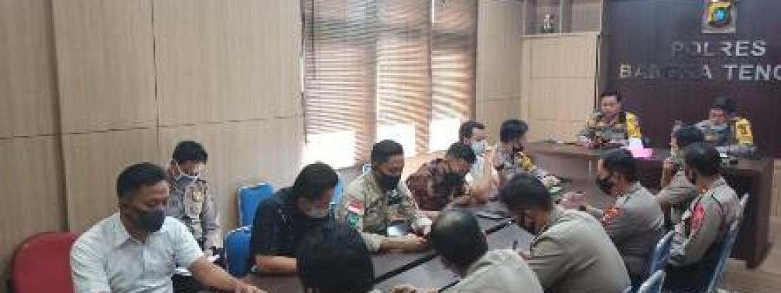 Masuk Setelah Lebaran, Kapolres Laksanakan Anev Operasi Ketupat dan Aman nusa