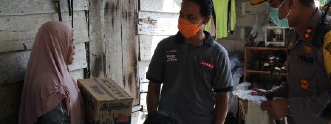 Polres Bangka tengah Bersinergi Dengan Belapun Gelar Bakti Sosial