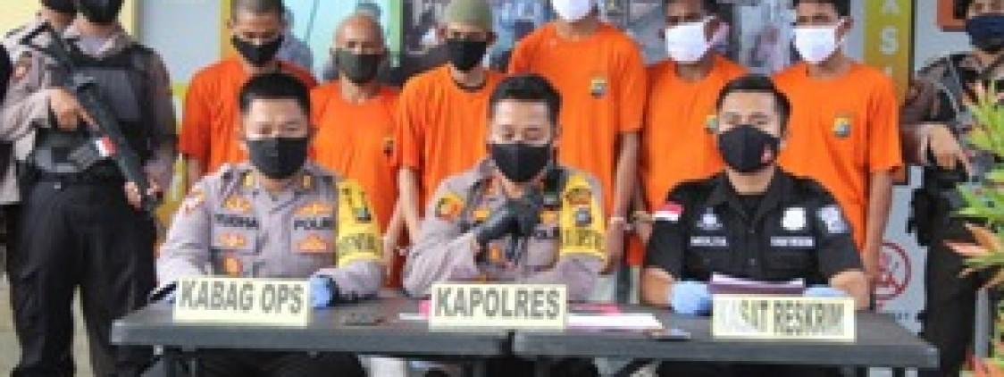 Tim Tupai Polres Bangka Tengah berhasil ungkap kasus Curanmor antar Kabupaten