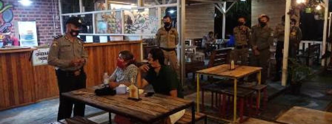 Sinergitas 3 pilar gelar Ops yustisi di wilayah hukum polres Bateng