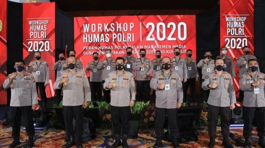 Humas Polri Gelar Workshop Manajemen Media Pilkada untuk Menciptakan Kamtibmas Kondusif