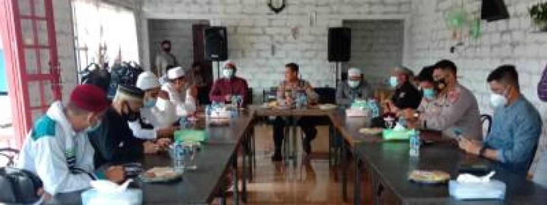 Kapolres Bateng terima Silaturahmi FPI dan Ormas FJB