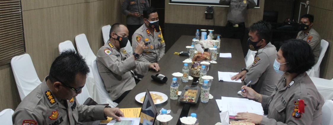 Cek Pelaksanaan Pengamanan Pilkada, Tim Itwasum Polri Datangi Polres Bangka Tengah