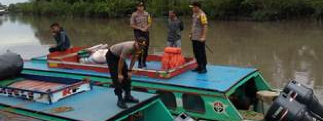 kapolres Bateng Pantau Langsung Pemudik Dari Pelabuhan Sungai selan