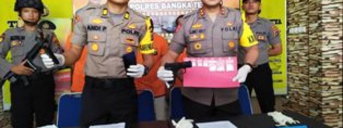 Sat Resnarkoba Polres Bangka tengah Tangkap Pengedar Narkoba, 27 Gram sabu diamankan