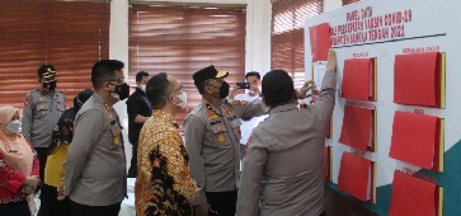 Supervisi Ke Bateng, Wakapolda Perjuangkan Eksistensi Satgas Sus