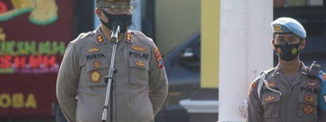 Pimpin Apel Perdana, Akbp. Risya Tekankan 3 Poin Penting