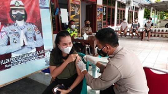 Berikut Jadwal Vaksinasi Klinik Polres bangka tengah, Catat Waktu dan tempatnya !