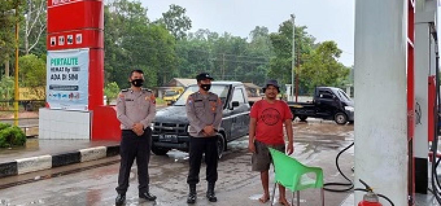 Menjadi Perhatian Kapolda, Kapolres Bangka tengah Perintahkan Pengamanan Di SPBU