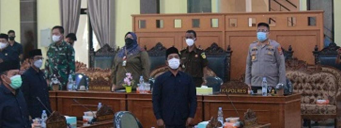 Akbp. Moch. Risya Hadiri Rapat Paripurna DPRD, Bahas 3 Agenda Penting