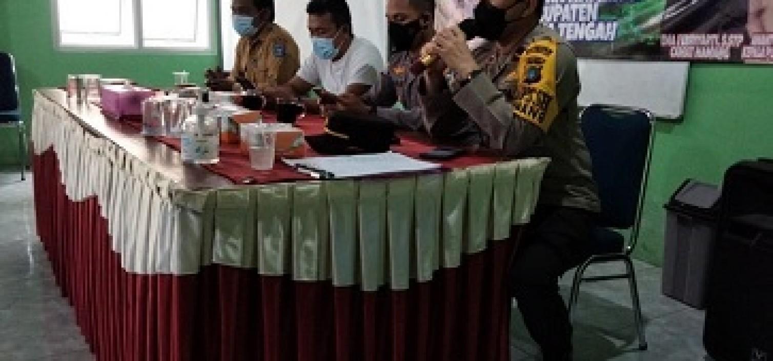 Sosialisasi Vaksinasi di Desa Cambai, Ipda. Endi berharap Capai Herd Immunity